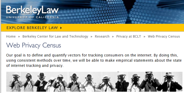 Web Privacy Census 1